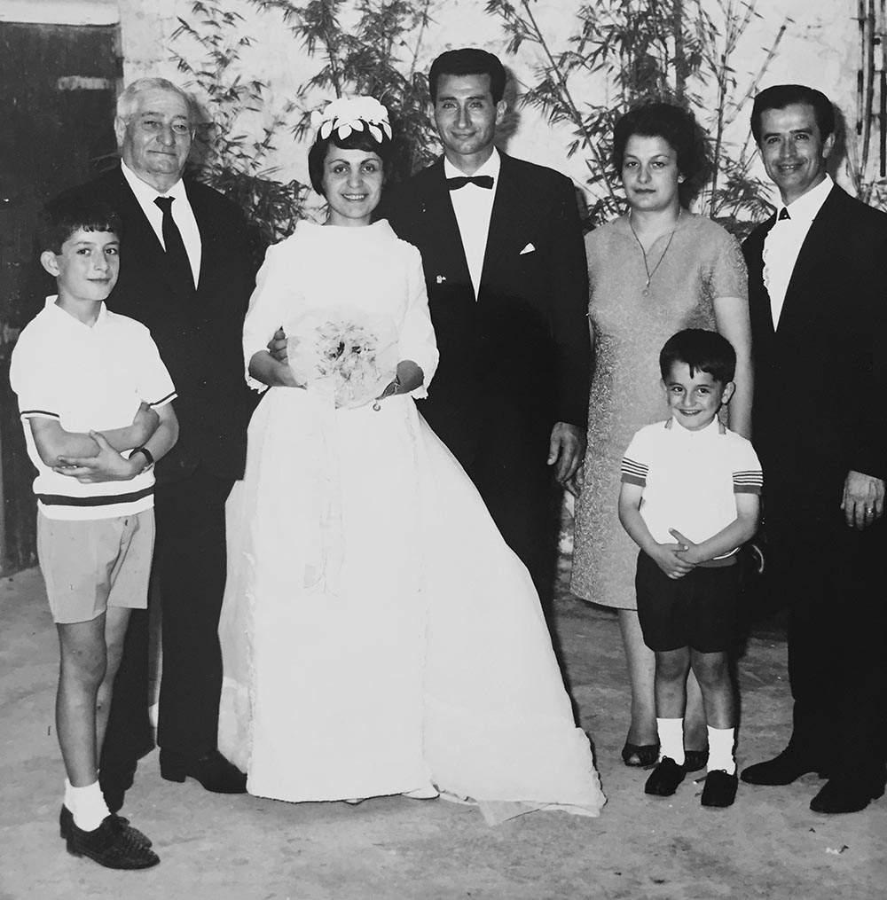 Foto storica famiglia Paparella