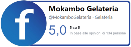 Badge Facebook Mokambo Gelateria Artigianale